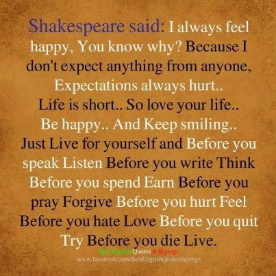 Shakespeare Picture Quote