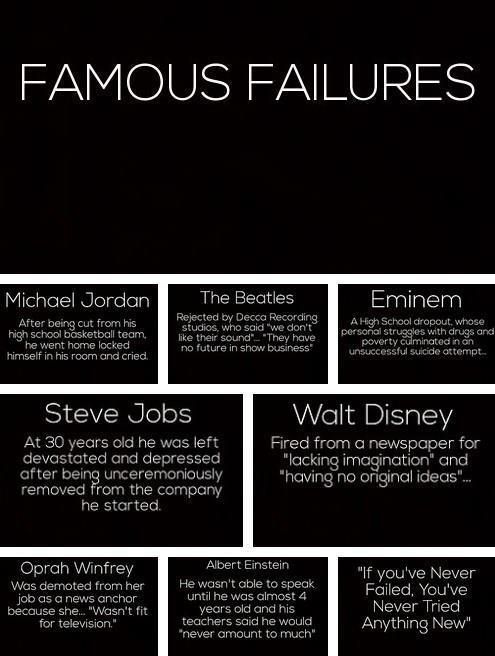 Famous Failures: