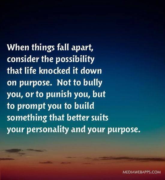 Falling Apart Quotes: 27 Motivational Picture Quotes To Keep You Moving Forward