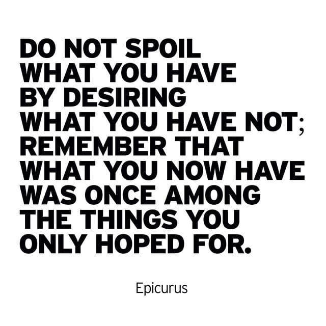 A gratitude reminder: