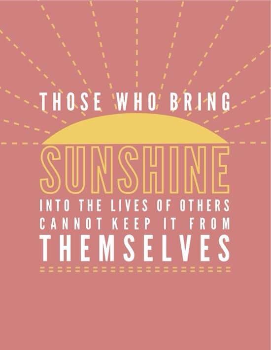 Brighten up life!