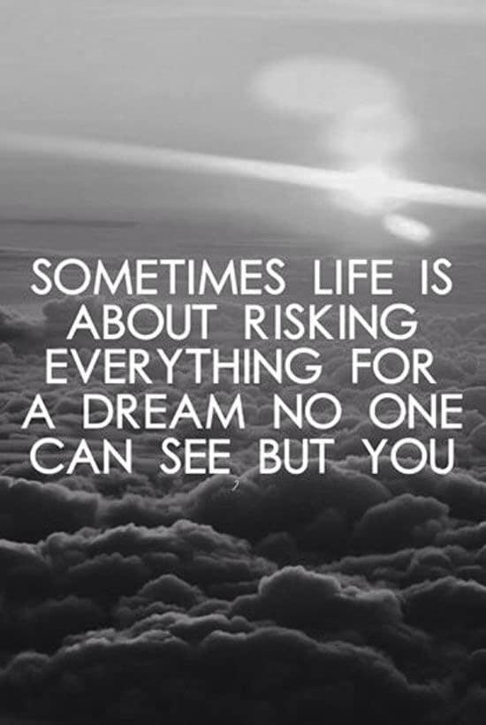 Sounds like a beautiful life to me.