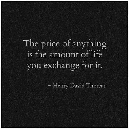 The ultimate price tag: