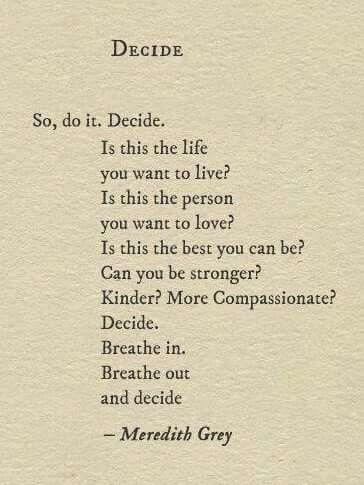 Go ahead.  Decide.
